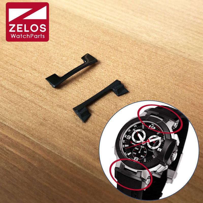 Steel Black Watch Band Cover Parts For Tissot T-race T-sport T048 Watch Strap Belt T048.417.27.057.06      T048.417.27.057.00