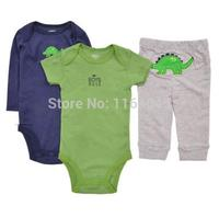 BSLL3-004, Original, Baby Boys 3- Piece Set, With Two Piece Bodysuits and One Piece Pants, Super Quality, Free Shipping