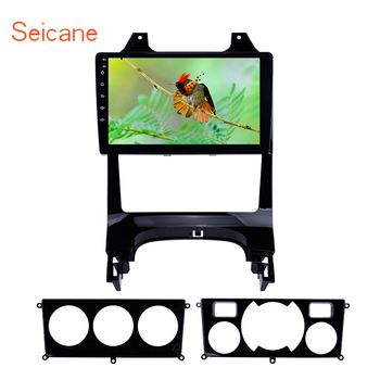Seicane car Multimedia Player Android 8.1 9 inch Car Auto Radio for Peugeot 3008 2009 2010-2012 GPS Steering Wheel Control 3G image