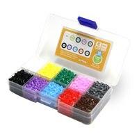 ลูกปัดฟิวส์Artkal 10กล่องสีชุดHamaมินิลูกปัดDiyของเล่นการศึกษาความคิดสร้างสรรค์