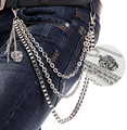 Pants chain Punk hip-hop party metal belt chain,waist chain,street boy trousers chain