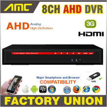 2017 AHD 8CH CCTV DVR Recorder 720P Real Time Digital Video Recorder H.264 Hybrid NVR 8 CH Channel HDMI Output for AHD Cameras