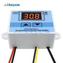 Contrôleur de température numérique LED W3001, thermomètre, thermostat, sonde de commutation, DC 12V, XH-W3001