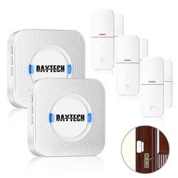 DAYTECH Tür/Fenster Öffnen Chime Sensor Alarm alarm Detector Sensor Wireless Home Security Alarm System Kits Einzelhandel Store/ büro