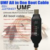 Umf/Cable todo en uno para edl /dfc para modelo 9800 para bota qualcomm/mtk/spd para lg 56k/910k