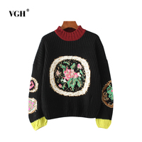 New Pattern Suit Dress European Fashion Bumping Gold Thread Flower Coarse Easy Sweater Rendering Unlined Upper