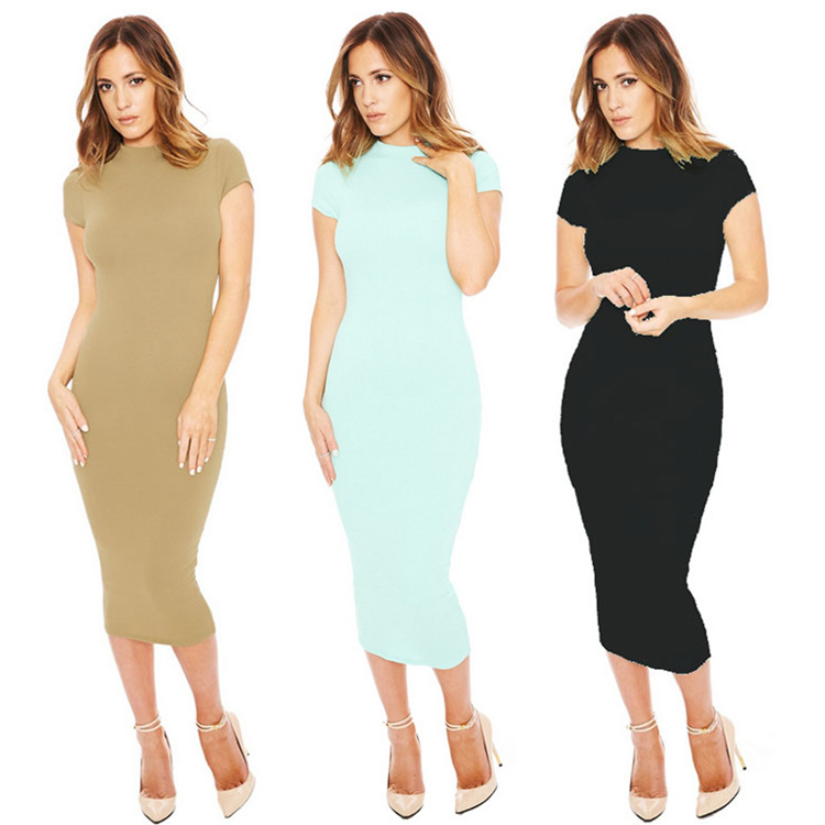Calf length dresses for summer