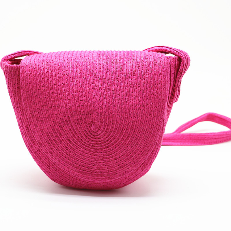 New Crossbody Bags for Women  Straw Woven Women Bag Summer Beach Bag Holiday Colorful Bag Shoulder Bags  Solid  Tote BagNew Crossbody Bags for Women  Straw Woven Women Bag Summer Beach Bag Holiday Colorful Bag Shoulder Bags  Solid  Tote Bag