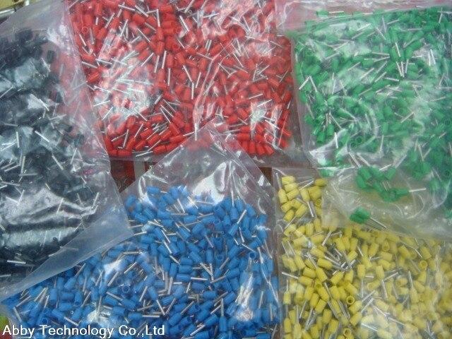 100 Stücke E50 20 1 AWG 50mm2 Draht Crimp Insulated Ferrule Kabel ...