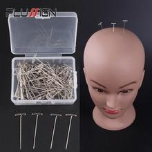 Plussign парик T контакты 1,5 дюймов для проведения парики волос Extender парик делает блокирование Вязание моделирование и ремесла 50 шт. t-контакты