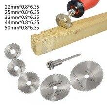 Mini hss ferramenta rotativa para serra, hojas de serra circular, ferramenta rotativa para corte de madeira discos de discos