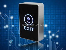 Free shipping push touch exit button door eixt release button for access control system