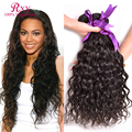 8A Peruvian Virgin Hair Natural Wave RXY Hair Products 3 Bundle Deals Curly Weave Human Hair Wet And Wavy Virgin Peruvian Hair