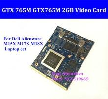 GTX 765M GTX765M 2GB Video Card MXM SLI for Dell Alienware M15X M17X M18X Laptop GTX