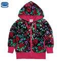 Nova детской одежды девушки зимние куртки звезды повторяющийся горячий продавать мультфильм куртки детские одежда детская мода куртки пальто