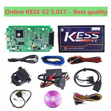 2017 New kess v2 v5.017 Master Best KESS V5.017 No Token Reading Limited Version HW kess v5.017 sw v2.23 Completed Set DHL Free