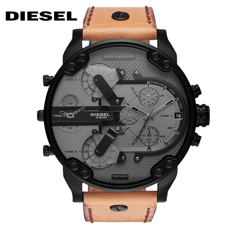 Diesel THEDADDIE-serien fyra tidszon herrsklocka - Herrklockor