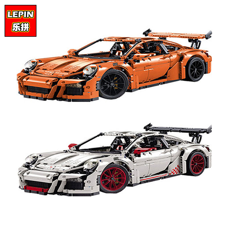 LEPIN 20001 20001B 2704PCS Technic Series DIY Model Building Kits Blocks Bricks Compatible With 42056 Boy's Toy Educational Gift jgrt car styling led fog lamp 2005 2012 for nissan march led drl daytime running light high low beam automobile accessories page 8