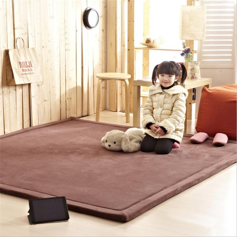 130x190cm Thicken Tatami Carpets For Living Room Children
