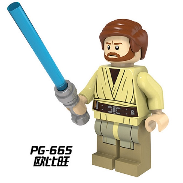 Single Sale Wars Obi Wan Kenobi With Lightsaber Darth Malgus Rogue One Dolls Building Blocks Bricks Toys For Children PG665