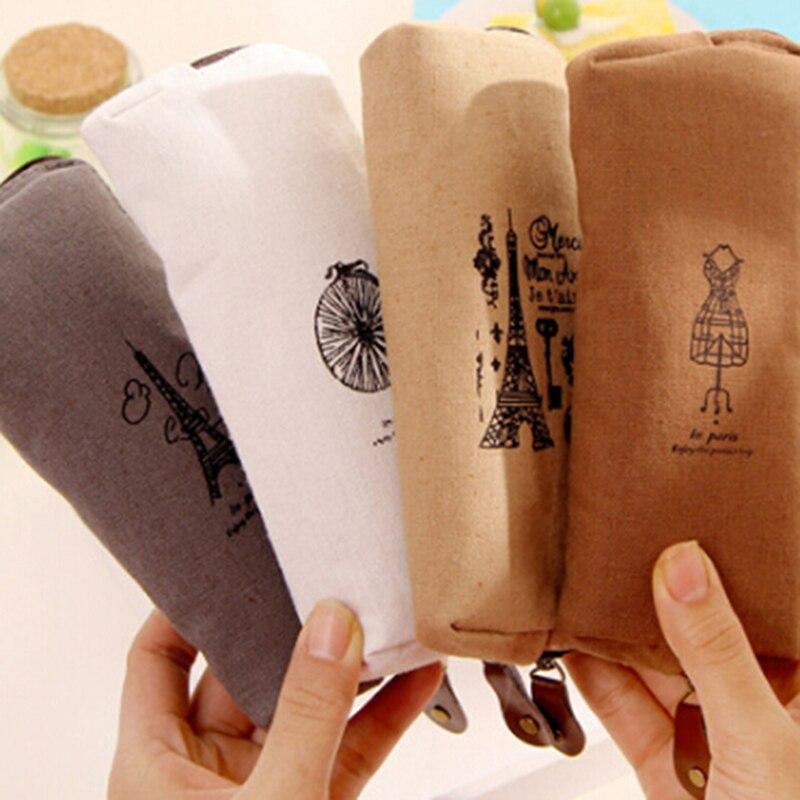 Ehrgeizig Kulturbeutel Travel Pouch Leinen Kosmetik Tasche Kleine Veranstalter Frauen Make-up Tasche Koffer Machen Up Fall Schönheit Neceser Waschen Tasche VerrüCkter Preis
