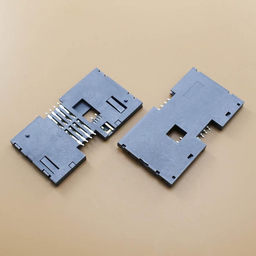 YuXi High Quality.1pcs/lot SMD IC card KF-011 memory card reader holder socket tray slot connector.