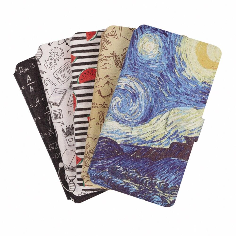 Coque Printed Case Cover For Motorola Moto G4 G6 G5S G5 S C Plus Play E5 E2 E4 Plus Z Z2 Z3 Play M Stand Card Holder Phone Bag