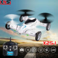 SongYang X25-1 SY X25 Flying Car 2.4G RC Quadcopter Updated Version Drone 6-Axis 4CH Can Add 2MP HD Camera Helicopter VS SYMA X9