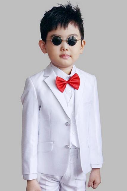 456df5243 Small suit jacket boy child flower girl dress suit suit three piece ...
