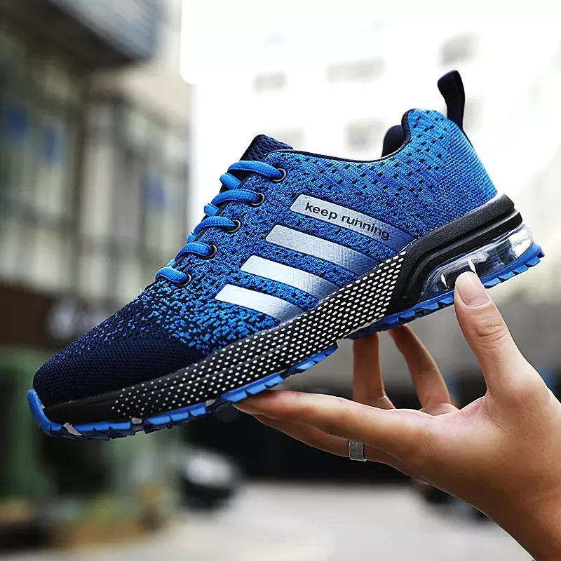 2019 Sport Running Shoes Men Couple Casual Shoes Men Flats Outdoor Sneakers Mesh Breathable Walking Footwear Sport Trainers tênis masculino lançamento 2019