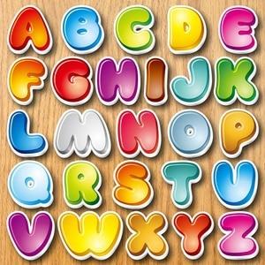 Image 2 - Alphabet réfrigérateur aimant Souvenir pour enfants dessin animé 3d animaux autocollants sur le réfrigérateur magnétique lettres et chiffres autocollants