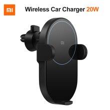 Оригинал, Xiaomi Qi, беспроводное автомобильное зарядное устройство, 20 Вт, Макс., автоматическое зажимное устройство, быстрая зарядка, автомобильный держатель телефона для iPhone Xs Max Xr X samsung