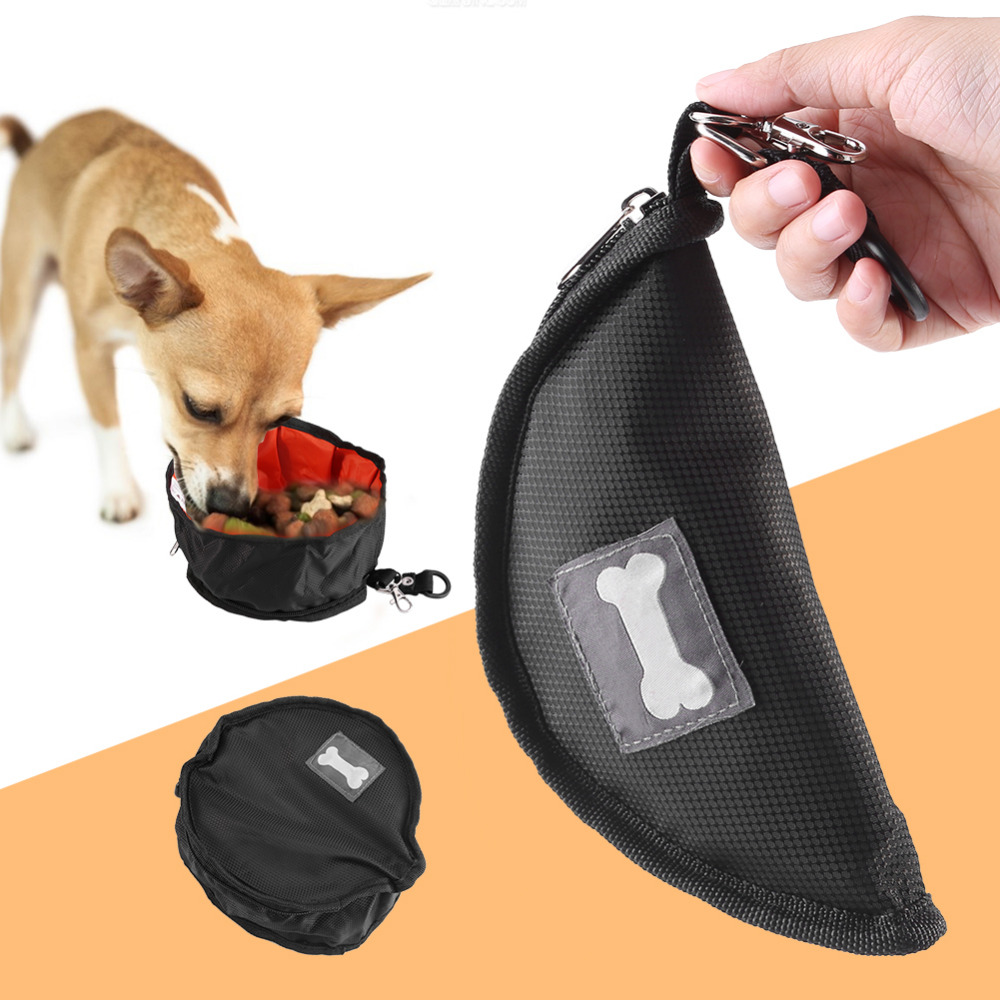 Portable Dog Cat Pet Puppy Drinker Fresh Water Bottle: Pet Dog Bowls Collapsible Portable Puppy Cats Drinking