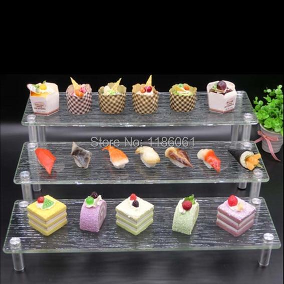 Pastel de bodas de acrílico de tres niveles Soporte de fiesta de - Cocina, comedor y bar - foto 2