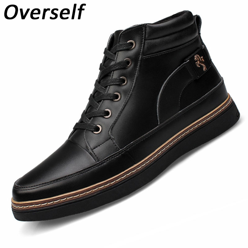Genuine Leather Mens Dress Shoes High Quality Oxford Shoes For Male Spring New form Lace Up Wedding Shoes Big Size Eur 37-48