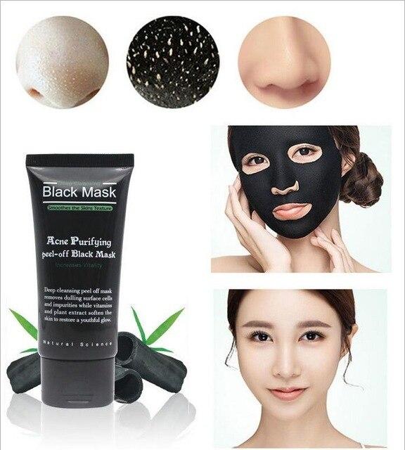 Blackhead quitar máscaras faciales profunda limpieza purificante negro Nud mascarilla máscara negra
