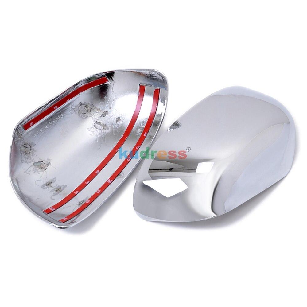 Для Mitsubishi ASX RVR Outlander 2007 2008 2009 2010 2011 2012 ABS хромированные боковые Зеркало заднего вида крышка планки авто-Стайлинг 2 шт