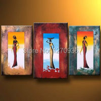 Women In Windows Modern Canvas Art Wall Decor Abstract Painting Handmade Woman Oil Painting for Wall Art Decoration Picture