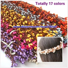 19 Colors  High Quality 40cm pretty pip berry stem for floral bracelet wreath wedding diy wreath
