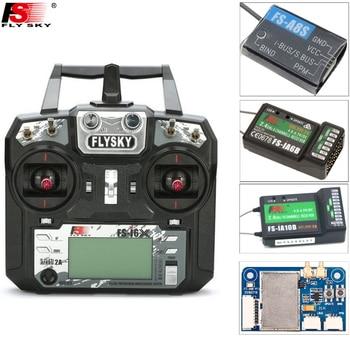 D'origine Flysky FS-i6X 10CH 2.4 ghz AFHDS 2A RC Émetteur + FS-iA6B/FS-iA10B/FS-X6B/FS-A8S Récepteur Pour rc Avion (Mode 2)
