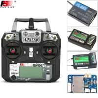 Originele Flysky FS-i6X 10CH 2.4 GHz AFHDS 2A RC Zender + FS-iA6B/FS-iA10B/FS-X6B/FS-A8S Ontvanger Voor Rc Vliegtuig (Mode 2)