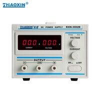 Alta Potência ZHAOXIN DC Ajustável fonte de Alimentação Regulada KXN-3002D 0.01A 0-2A 0-300 v Ajustável 0.1 v