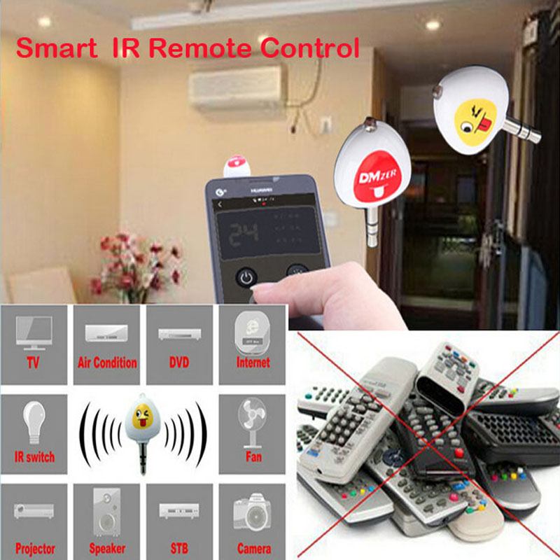 Universal Smart Wireless Ir Infrared Remote Control For