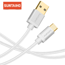 Suntaiho 3A USB C 3.1 Cable For Samsung Galaxy S9 S8 Plus Note 8 Quick Charger For xiaomi mi9 USB Type-C Data Charger Cord