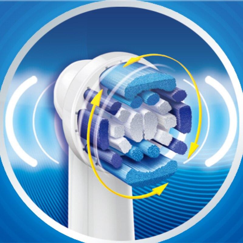 Oral B D12013 cepillos de dientes eléctricos recargable marcas de higiene  Oral eléctrica cepillos de dientes cuidado Dental cepillo de dientes en  Cepillos ... 09a770f6111a
