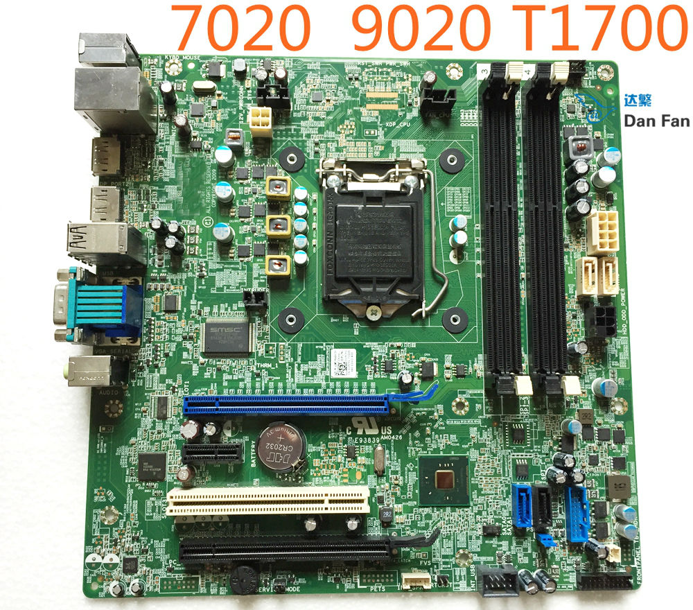 CN-0N4YC8 For DELL Optiplex 9020 MT Desktop Motherboard CN-01PCY1 F5C5X PC5F7 Mainboard 100%tested fully work partes del cable coaxial