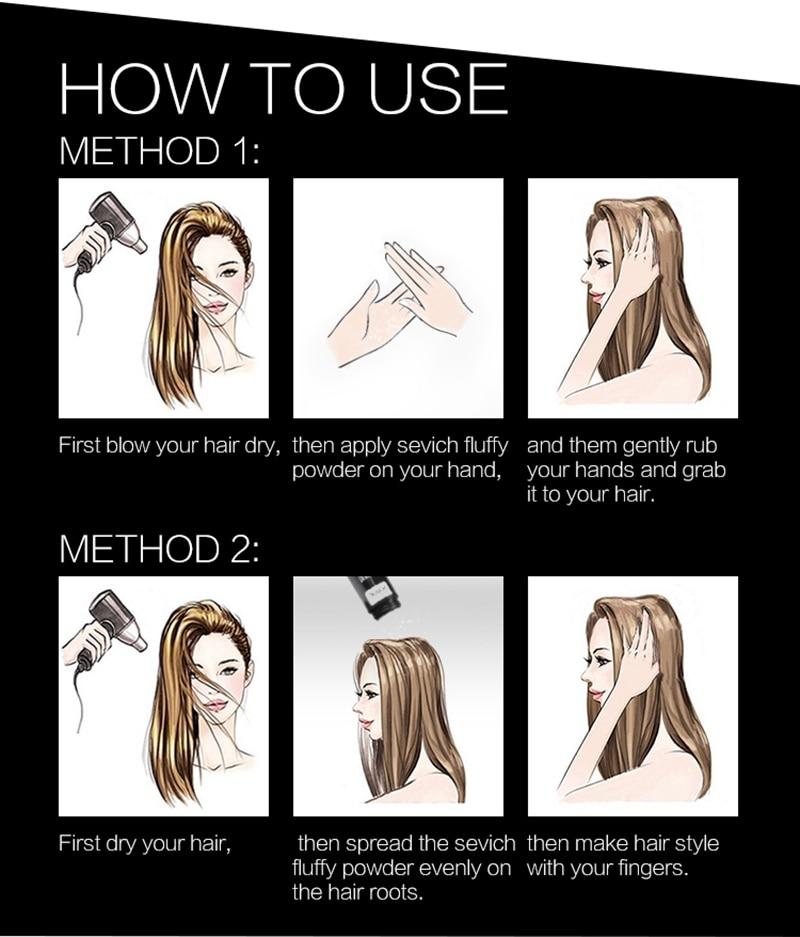 D Fluffy Thin Hair Powder  (6)