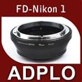 Pixco адаптер костюм для канона FD объектив Nikon 1 AW1 J3 J2 J1 S1 V2 V1 камера без штатива