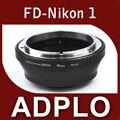Pixco adaptador de montaje traje para Canon FD lente a Nikon 1 AW1 J2 J3 J1 S1 V2 V1 cámara sin trípode