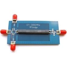 RF SWR Reflection Bridge 0.1-3000 MHZ Antenna Analyzer VHF UHF VSWR return loss цена и фото